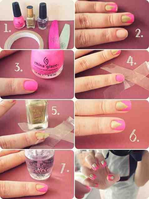 Create a cute nail design