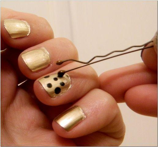 Or, even easier, just use a bobby pin.