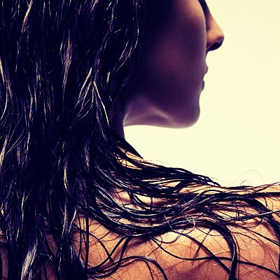 Hair should be thoroughly wet before you start hot water opens the cuticles which is  Good for removing dirt.