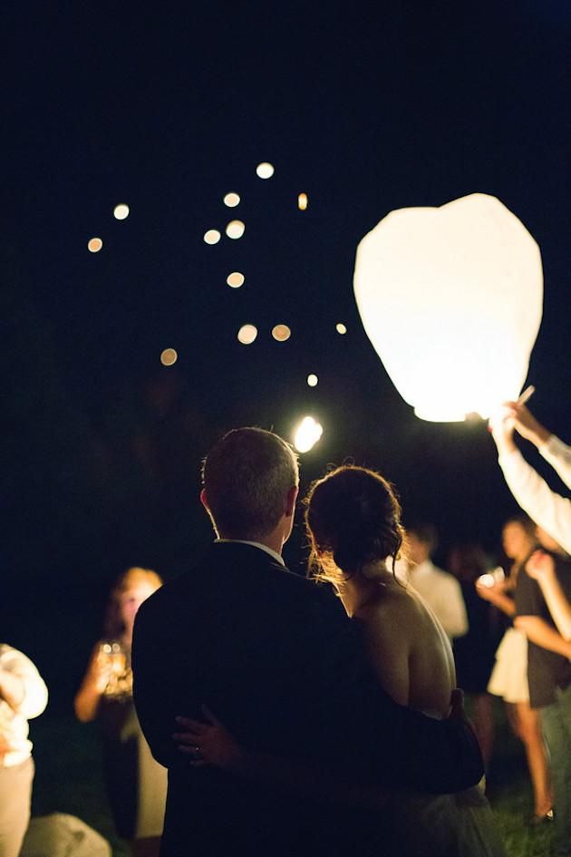 Fireworks or Lanterns: Launching sky lanterns, putting on a fireworks display, or having a sparkler sendoff adds serious sparkle to your wedding and ensures you finish your night on the most romantic note possible.