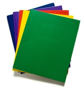 Folders for every class.