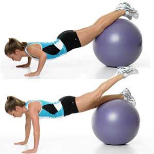 Push-up & leg raise