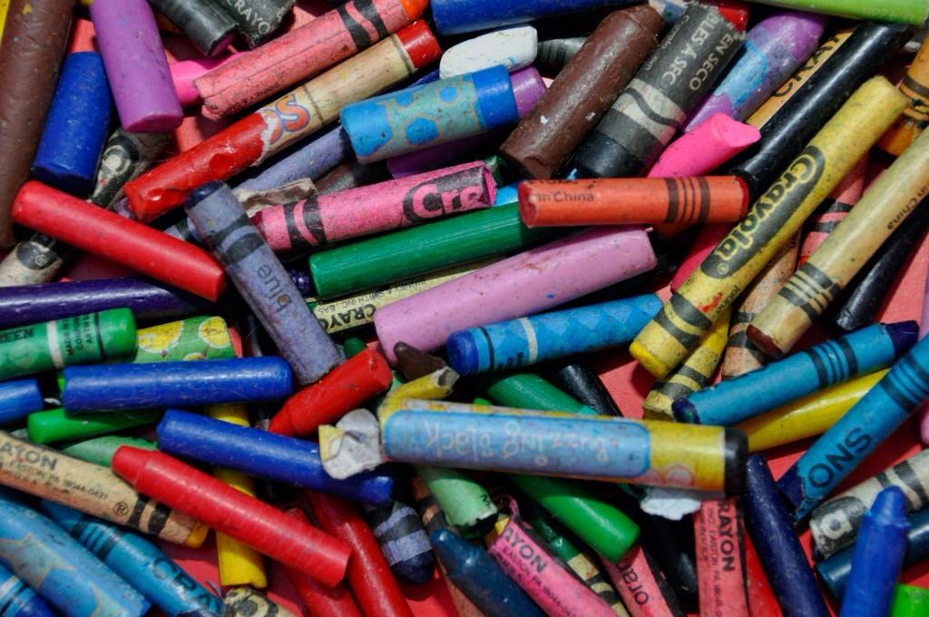 Get broken crayons