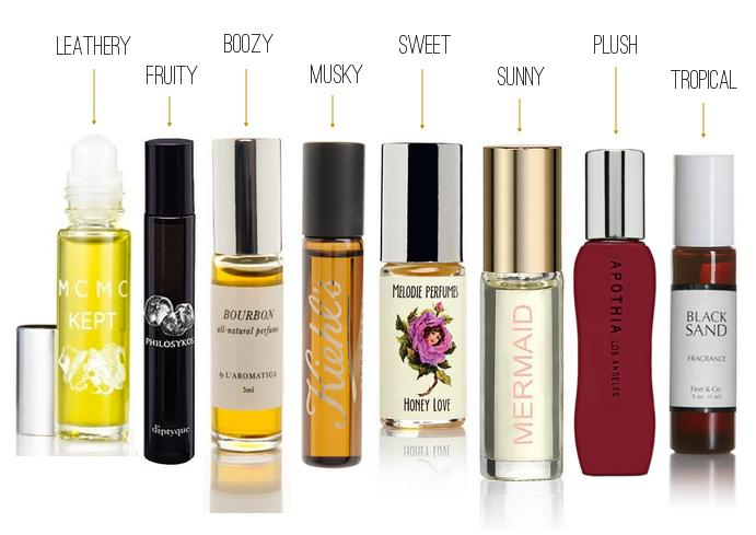 12. Roll-On Perfume  Rollerball perfumes are easy to apply (completely mess proof, unless you break the bottle) and much easier to tote around than a full bottle of your favorite fragrance. Just like touching up your makeup and hair in the morning,