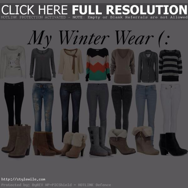 All of these outfits are so comfy for winter and are easy to create save like and comment for more tips ❤️💋