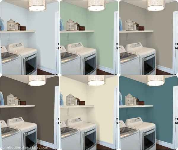 31. This handy website lets you see how your room will look with different paint colors. http://www.mycolortopia.com/color_previews