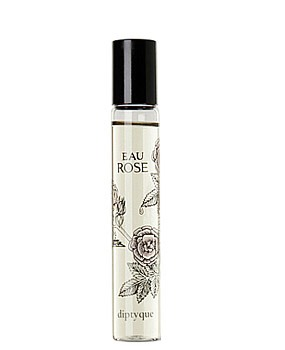 18) Roll on perfume:  I like to keep a roll-on bottle of my favorite perfume so I can freshen up anywhere. I just roll a few drops onto my wrists and neck, and tend to catch the addicting scent throughout the day. Not only is it the perfect size to keep in my purse, but it's also convenient.