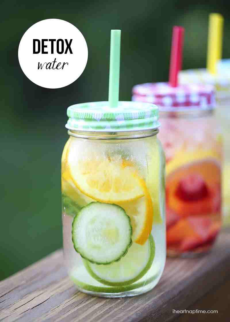 This is Lemon and Orange Detox water