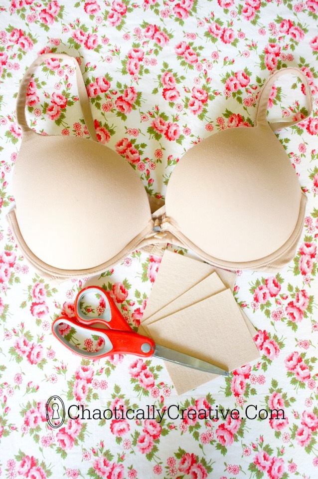 4.Pokey Underwire Bra Hack We've all been there! Your underwire pokes through the fabric and stabs you in the chest. Use this quick tip by Chaotically Creative to repair your underwire bra.