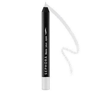 2. Use white eyeliner to make your peepers appear larger. This one from Sephora is a great go to. Just use it to line your inner bottom lid and watch those peepers pop.