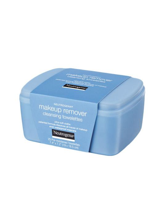 13. Neutrogena Makeup Remover Cleansing Towelettes