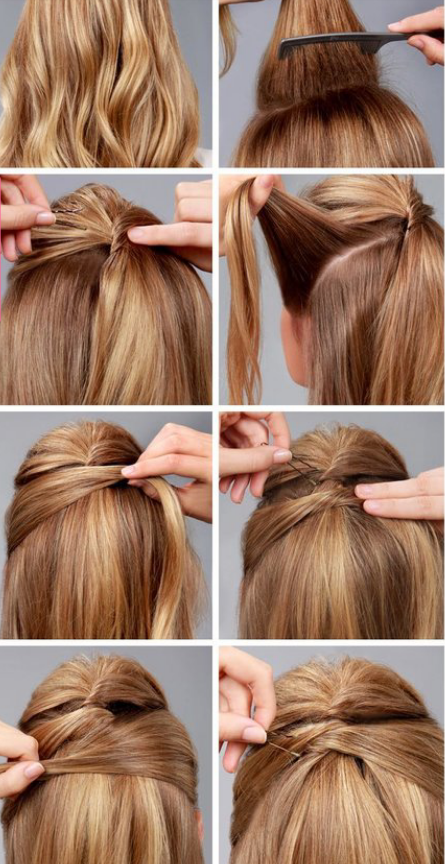 A Simple Hair Style By Ray Marie Musely