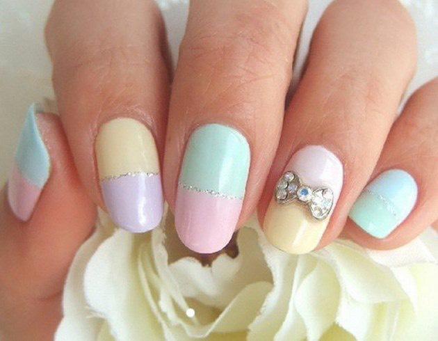 Cute pastel for spring