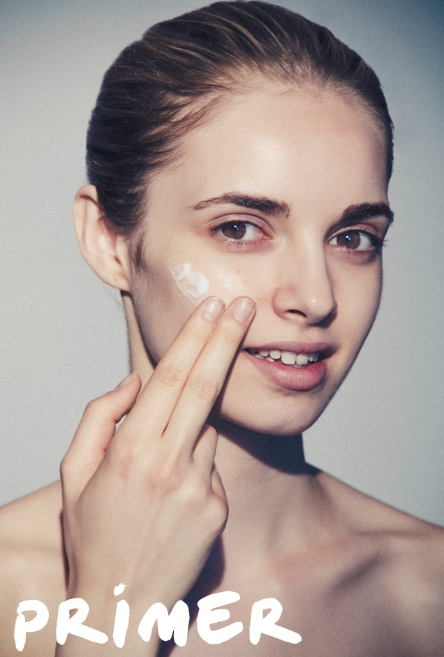 paying attention to the under eye area. This will allow any under eye concealer to glide on smoothly. Then apply your concealer, foundation, or face powder as you normally would.