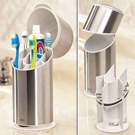 12. The Toothbrush Organizer, $25   For the germaphobe in your life. Get it at feshfinds.com