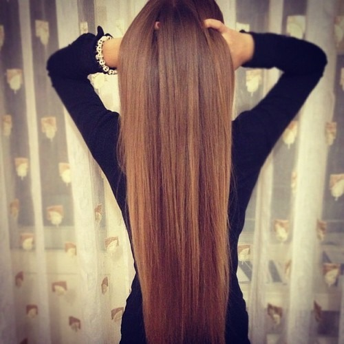 A great way to luscious shiny and healthy looking hair without expense and products  All you need is some coconut oil  Good luck and I hope you like the results and this helps :)