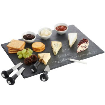Slate Cheese Tray Perfect for people who love to entertain!  https://www.amazon.com/gp/aw/d/B00HYA0QYY/ref=aw_wl_ov_dp_1_3?colid=3DL2847QND9QU&coliid=I272MN4ZY5906B