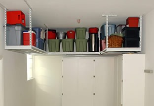 Do an audit of your belongings to determine what type of storage would work best for you. For example, if most of the items in your garage are sports related, then you should opt for metal shelving and hanging hooks rather than large boxes.