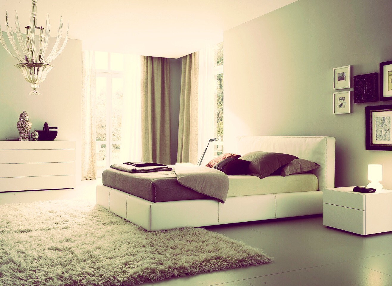 When you are cleaning the whole house, do it room by room. This way you don't get distracted and not finish it. If you find something that has to be moved to a different room, set it aside until it's time for that room.
