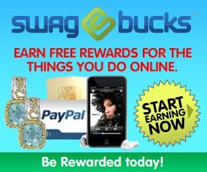 Swagbucks Users can participate in up to nine different activities, including watching videos, surfing the web, and inputting swag codes, to earn Swagbucks — virtual money that can be redeemed in the form of gift cards or PayPal $$