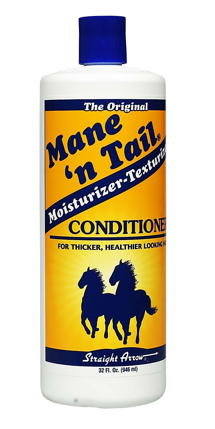 Use mane and tail conditioner after you get out of the shower