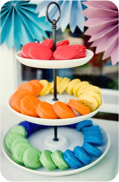 18. Oreos Dipped in Colored Chocolate