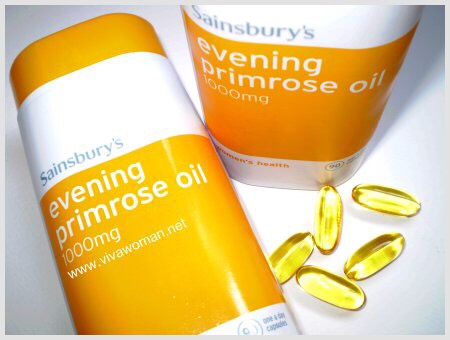 Take evening primrose oil every morning when you wake up with a glass of water