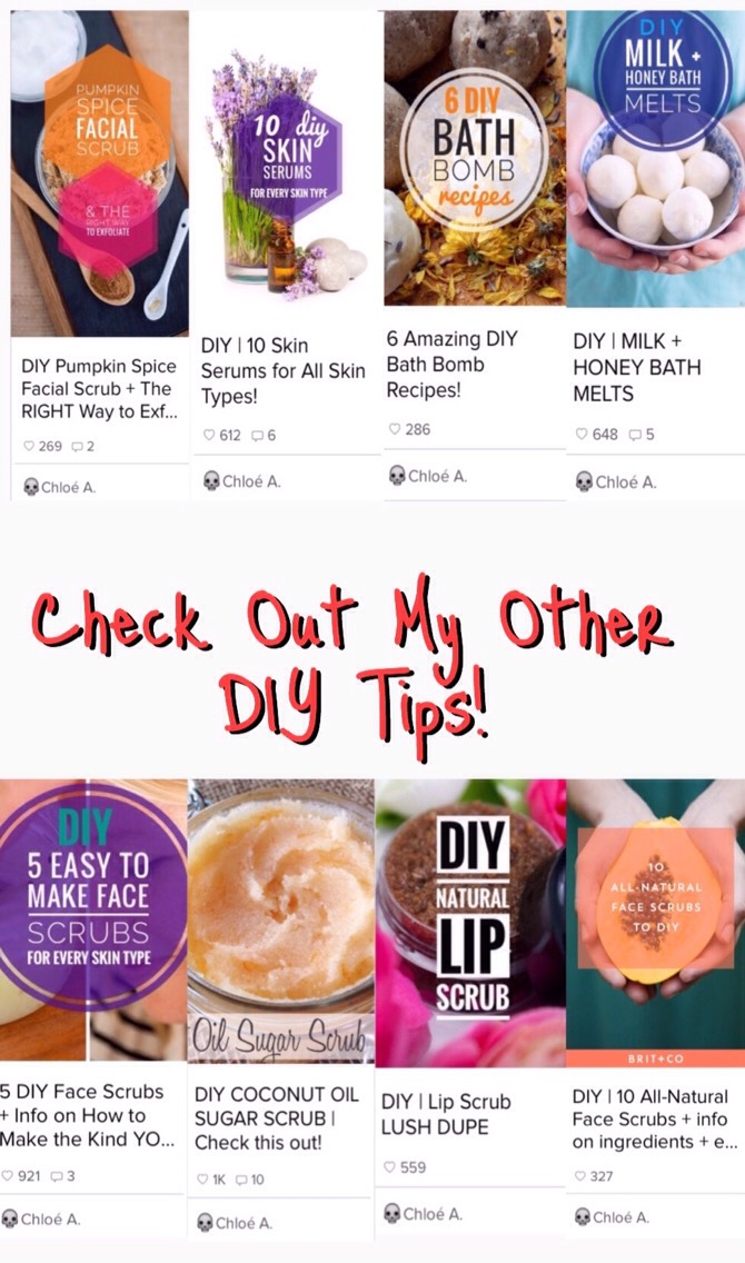 Don't miss my other beauty, skincare & just for fun DIY tips!