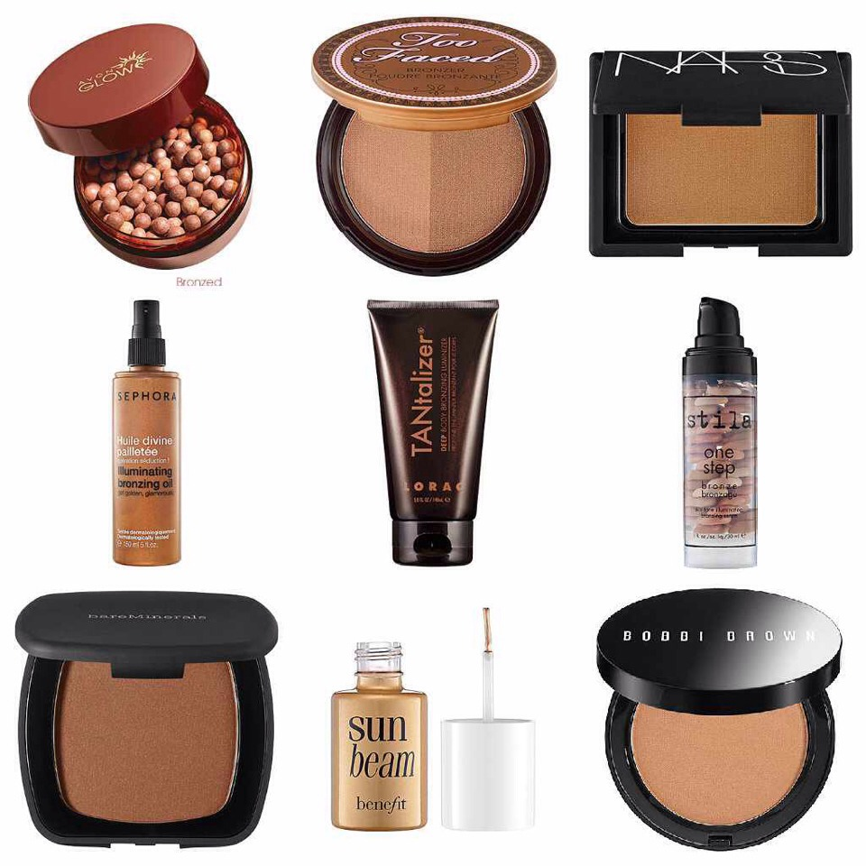 A bronzer can help you more easily tone your skin. It will also help you to more evenly tan. Just make sure you don't overdo it