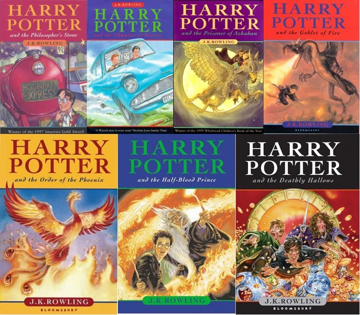 4. Harry Potter is one of the most awesome book ever and it's cool too.
