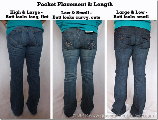 Know what kinds of pants to wear!