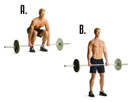 1. Deadlifts