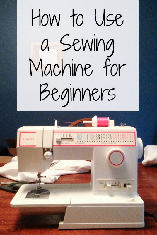 How To Use A Sewing Machine For Beginners by Jasmine Musely