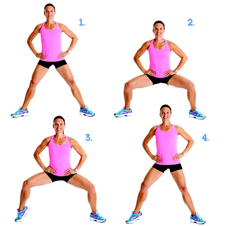 Похудеть Ляжки Упражнения.