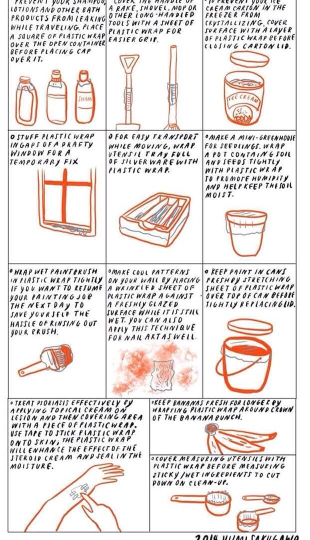 9 Uses For Plastic Wrap