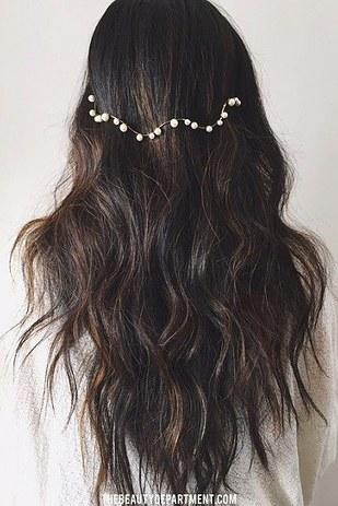 For a really fun look that requires basically no effort, wear a reverse headband!