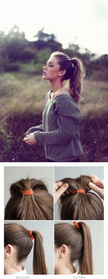 10. Or prop it up with two bobby pins.