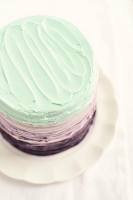 22. Vanilla Blackberry-Mascarpone Cake for Two