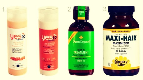 Damage treatment and other hair care product are good cause you want to get extra support in there!