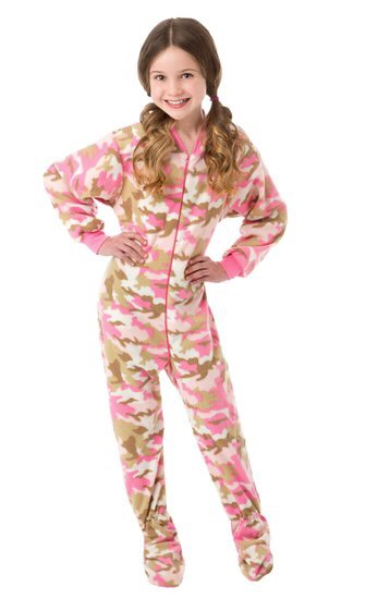 Be comfortable in a onsie maybe