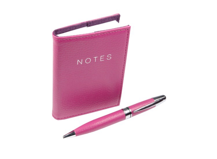Always have a small notebook with a pen, you never know when you will need to remember something !