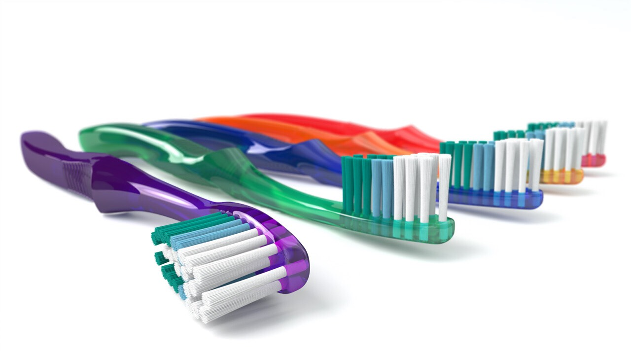 1) first you want to get your toothbrush. It can be any toothbrush you have, it doesn't have to be new