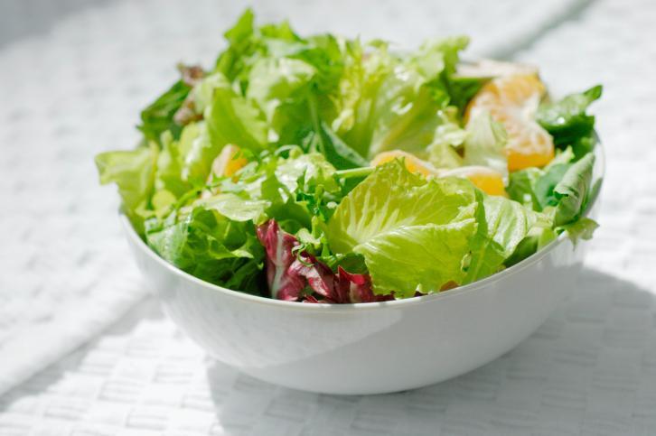 Lettuce  If you're at all phobic about your shake passing for salsa verde, try a mild, velvety butterhead lettuce like Boston or Bibb.
