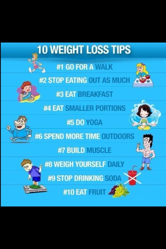 follow these steps and you are guaranteed to loose weight!!