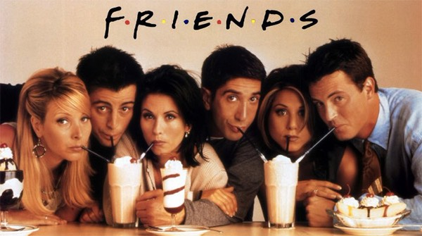 Everyone loves friends and now its on Netflix! Quick go watch it! Now!