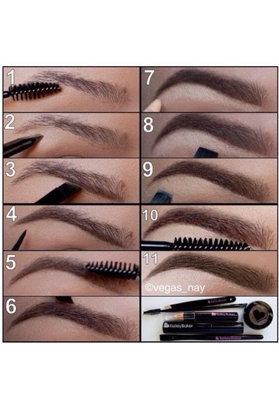 How to correctly and efficiently do your eyebrows! 🙈