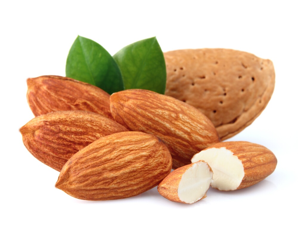 7. Almond Both almonds and almond oil are good for your skin. Almonds are rich in skin-nourishing properties that can help maintain an even skin tone and keep your skin healthy and glowing. The ways of using almond is ..........