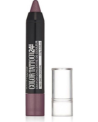 5) Maybelline Color Tattoo Concentrated Crayon If you've ever tried Maybelline's color tattoo pots (if you havent, you should!), you know how amazing some of them are. Theyve come out with some more incredible color tattoos in a crayon! This makes application much easier. My fave color is Lilac Lust