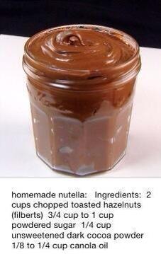 Taste the exact same as real Nutella