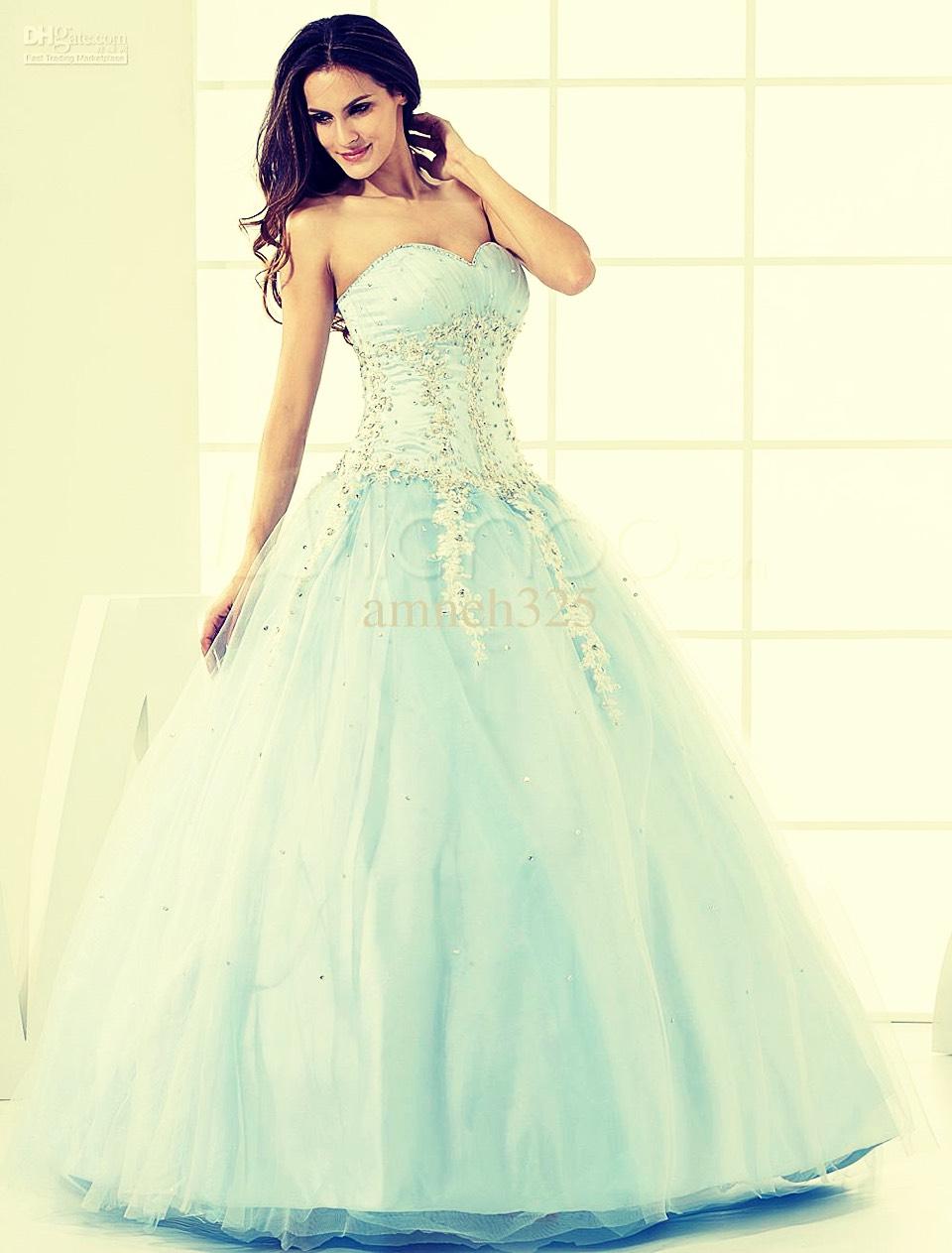 Winter prom dress💕